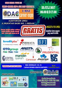 UMSU CAREER EXPO JULI 2017